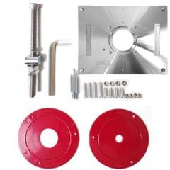Multifunctional Aluminum Alloy Router Table Insert Plate