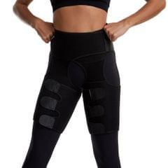 Three-In-One Lift Hip Tummy Belt Moulding Bodybuilding - L/XL