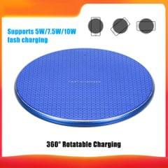 5/7.5/10W Wireless Charger Aluminium Alloy Flying Disk Fast