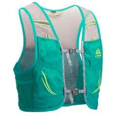 Outdoor Running Vest Mesh Breathable Hydration Rucksack Bag - S-M