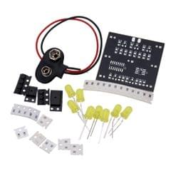DIY Kit for Random LED Touch Dice Electronic Set with 7pcs