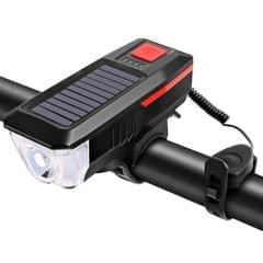 Solar / USB Charging Bike Light Bicycle Bell Horn Lamp Bike