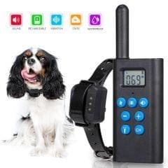 L-818 Dog Training Collar No Bark Dog Shock Collar with - EU Plug
