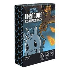 Table Card Game Unstable Unicorns Dragons Expansion Pack - 3