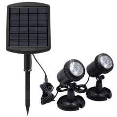 LED Pool Lights Waterproof Solar Powered Garden Pond Light