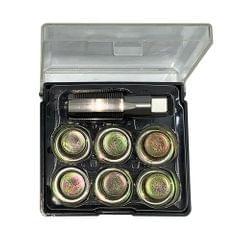 M20 x 1.5mm 7Pcs Oil Pan Thread Repair Set Automotive Oil - M20 x 1.5mm
