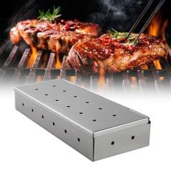 Washable Folding Thicken Stainless Steel Smoker Case Sawdust
