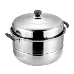 SUS560-1  Thick Stainless Steel Single-layer Steamer
