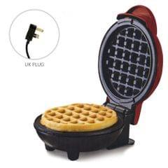 Mini Waffle Maker Breakfast Machine Non Stick Easy Clean - UK PLUG