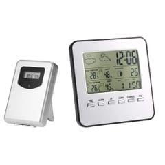 Multi-functional Wireless Weather Station Clock LCD Digital