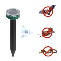 Solar Mole Repellent Sonic Deterrent Repeller Snake Rodent