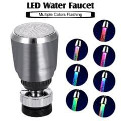 LED Water Faucet Light Water Stream Movable Water Faucet - Multiple Colors LED