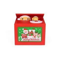 Steal Money Santa Claus Electronic Piggy Bank Coin Grabing