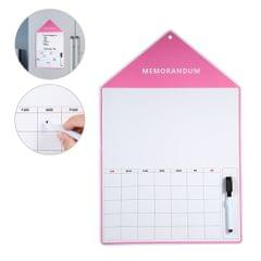 Fridge Magnet Calendar Dry Erase Whiteboard with Marker