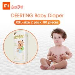 Xiaomi Youpin Baby Reusable Diaper Cotton Cloth Diapers Baby - XXL 2packs