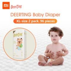 Xiaomi Youpin Baby Reusable Diaper Cotton Cloth Diapers Baby - XL 2packs