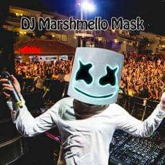 LED DJ Marshmello Helmet Music Festival Light Up Marshmallow