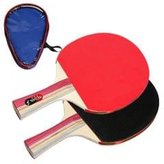 Quality Ping Pong Paddles Table Tennis Rackets 2 Long Handle