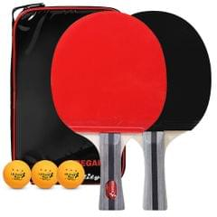 Quality Ping Pong Paddles Table Tennis Rackets 2 Ping Pong