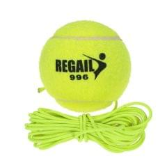 Natural Rubber Synthetic Wool Fiber Tennis Ball Dog Training