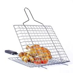Grilling Basket Non-Stick Barbecue Basket Heavy Duty BBQ