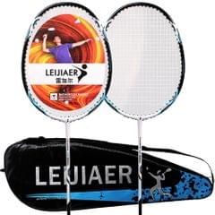 LEIJIAER 2pcs Badminton Racket competition Plume 2 Player - 1