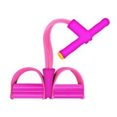 Four Tube Home Rope Pedal Exerciser Tractor Elastic Calf