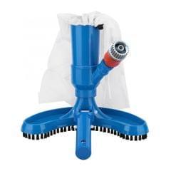 Jet Vacuum Brush Pool Vacuum Head Set Cleaner with Brush Bag