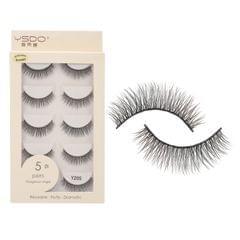 Anself 5 Pairs 3D Fake Eyelashes False Eyelashes Handamde - Y205