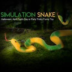 Simulation Rubber Snake Fake Snake Garden Props Tricky Funny - type3