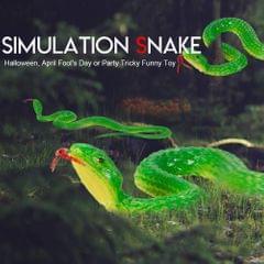 Simulation Rubber Snake Fake Snake Garden Props Tricky Funny - type2