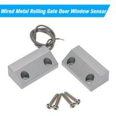 Wired Metal Rolling Gate Door Window Sensor Magnetic