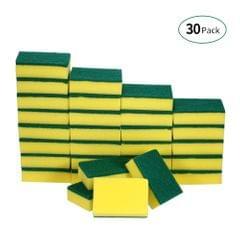 Esonmus 30pcs Multi-purpose Double-faced Sponge Scouring