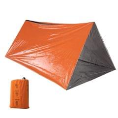 Emergency Tube Tent Survival Orange Shelter Rescue Camping
