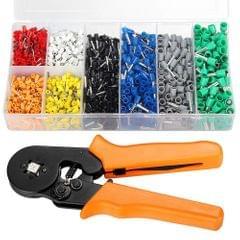 Ferrule Crimping Tool Kit Ferrule Crimper Plier 800Pcs Wire