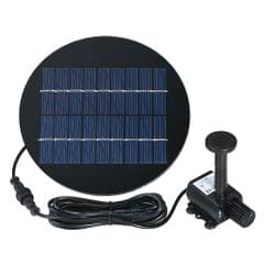 Decdeal 9V 2W Solar Panel Solar Powered Fountain Submersible - 2W