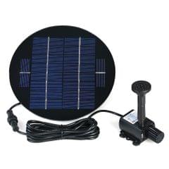Decdeal 9V 3W Solar Panel Solar Powered Fountain Submersible - 3W