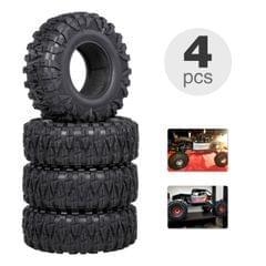 4PCS 2.2IN Crawler RC Tires Ultra Soft Rock Crawler Tires