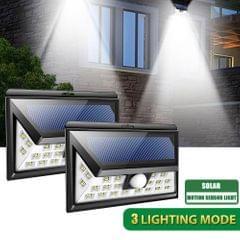 24LED Wide Angle Wall Lamp 10M Sensoring Distance 120 Degree - 2  pcs