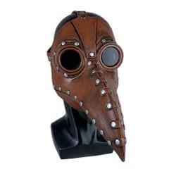 Plague Bird Mask Halloween Mask Long Nose Bird Beak Mask - Type 2