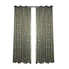 Blackout Curtains for Bedroom Thermal Insulated Printed