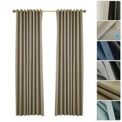 Blackout Curtains for Bedroom Grommet Insulated Room - 53W X 95L in