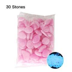 30pcs/Bag Luminous Pebbles Stones Home Fish Tank Outdoor - 10