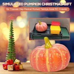 RC Car Ornament Decoration Simulated Pumpkin Christmas Gift