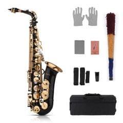 Muslady Eb Alto Saxophone Sax Brass Lacquered Gold 82Z Key