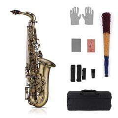 Muslady High Grade Antique Finish Eb E-flat Alto Saxophone