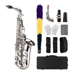 Saxophone Sax Eb Be Alto E Flat Brass Carved Pattern on