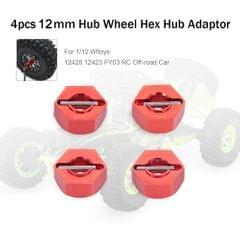 12mm Metal Hub Wheel Hex Adaptor for 1/12 Wltoys 12428 12423