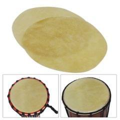 42cm/ 16.5in Drum Head Durable Buffalo Skin Round Drum - 42cm
