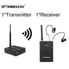 TP-WIRELESS TP-WMS02 In-ear Stage Audio Monitor System - EU-1